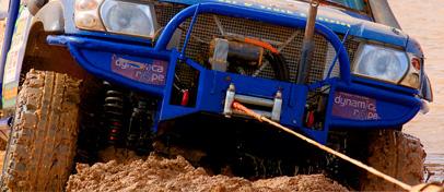 Dynamic Rope Mud Rescue
